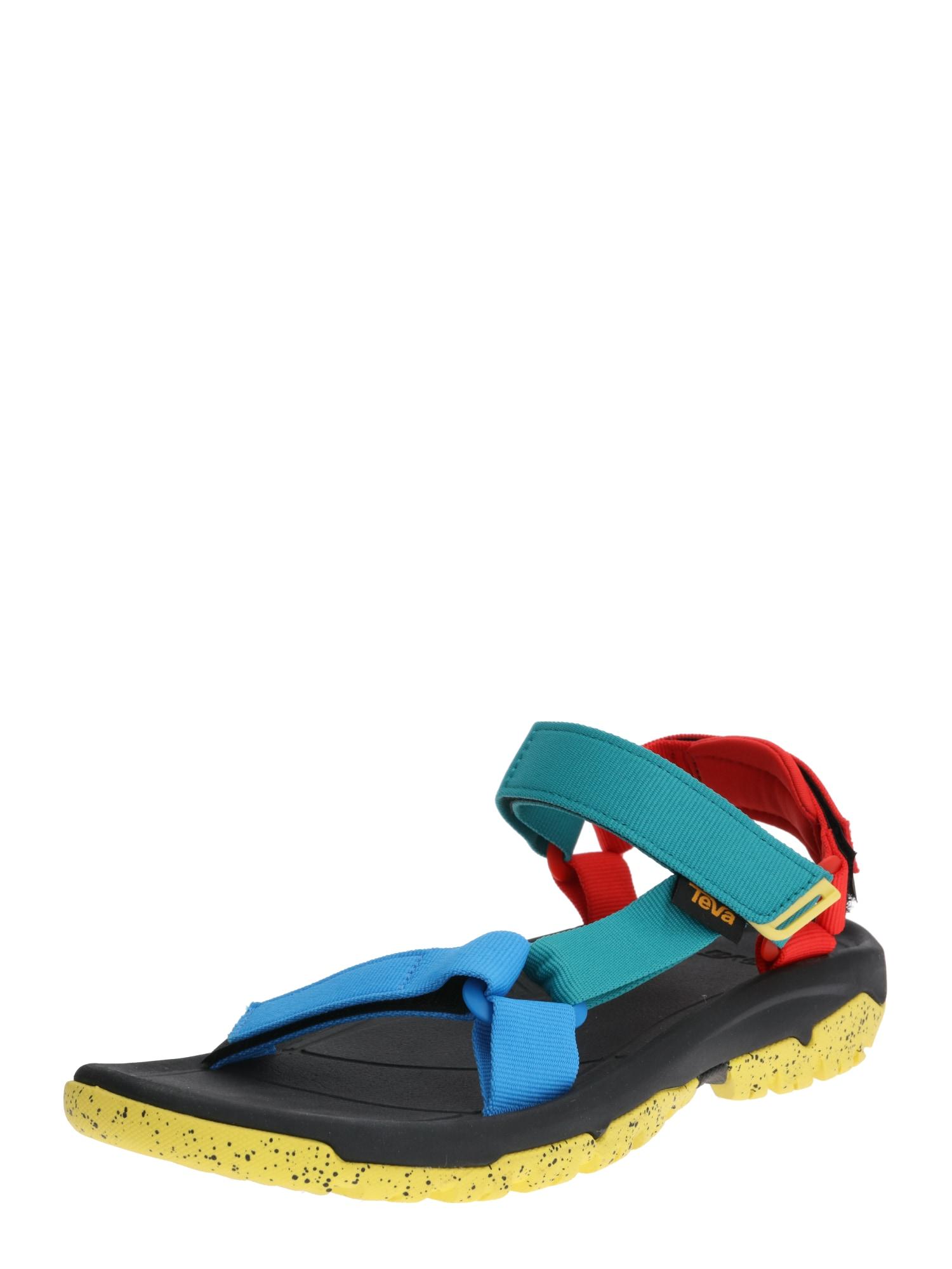 TEVA Sandalai 'XLT2' mėlyna / turkio spalva / raudona