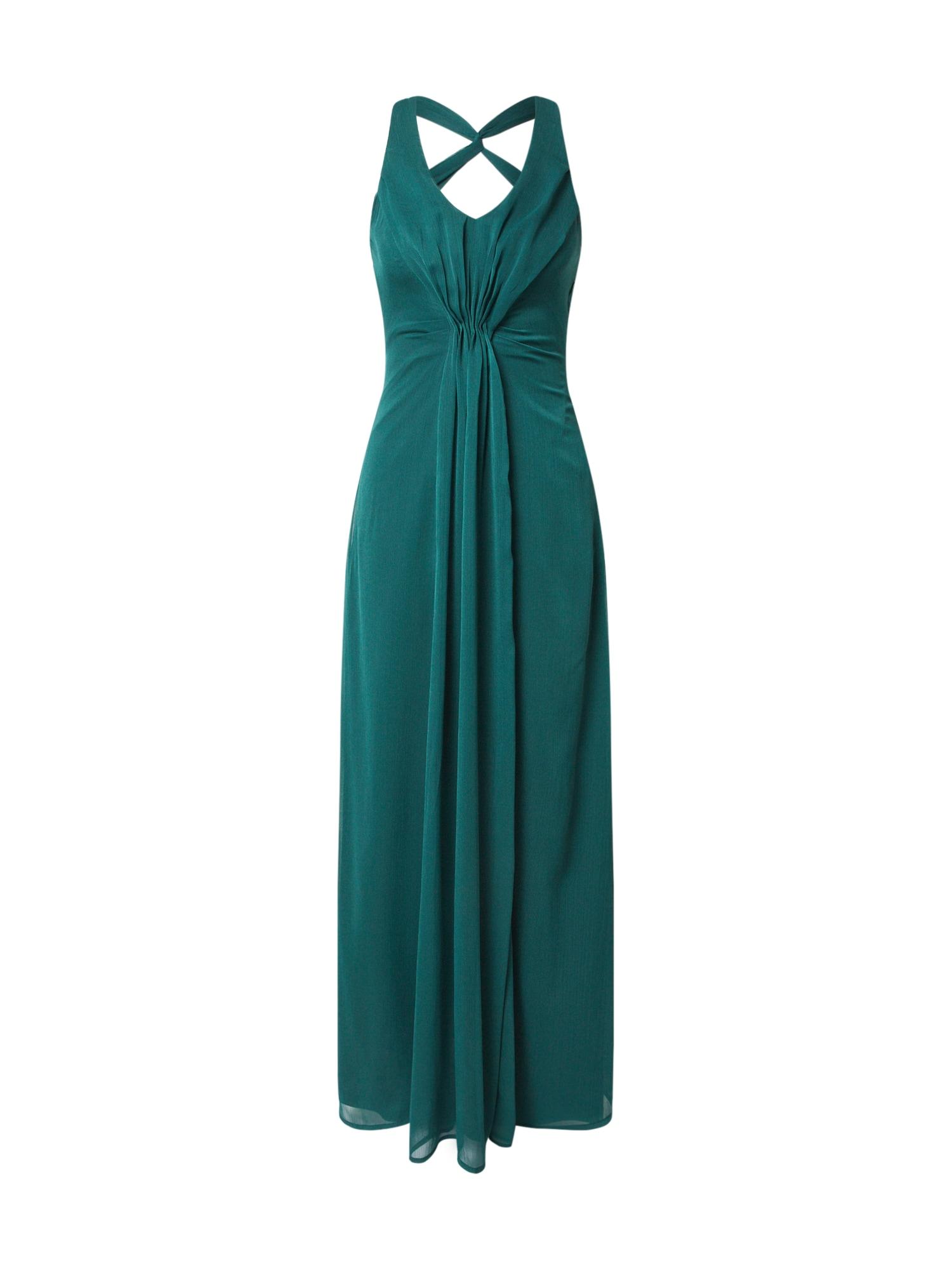 ABOUT YOU Vakarinė suknelė 'Rafaela' smaragdinė spalva