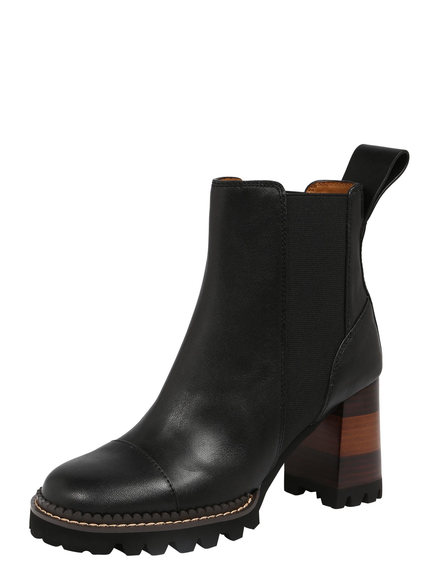 "See by Chloé ""Chelsea"" batai juoda"