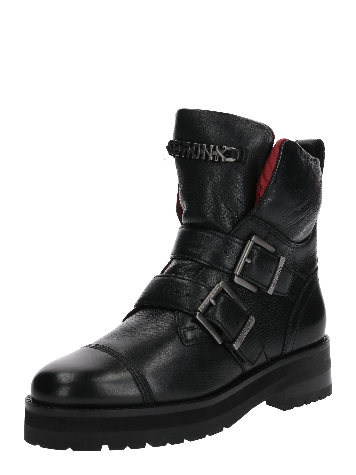 BRONX Auliniai batai 'GAMLETT' juoda