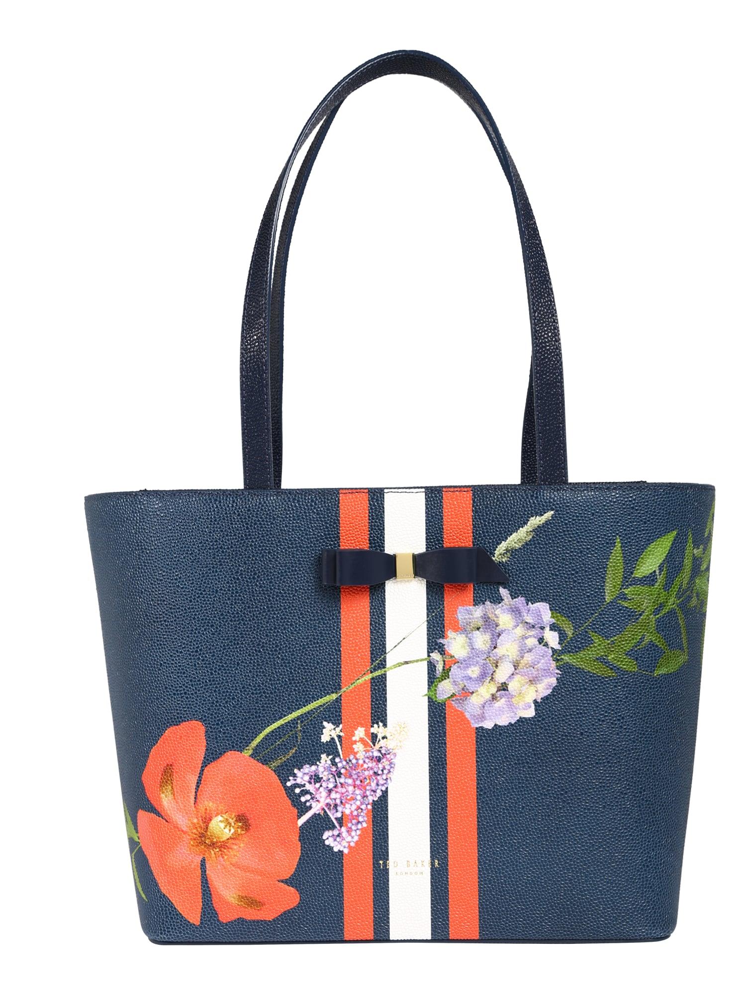 Nákupní taška titania hedgegrow shopper tmavě modrá mix barev Ted Baker