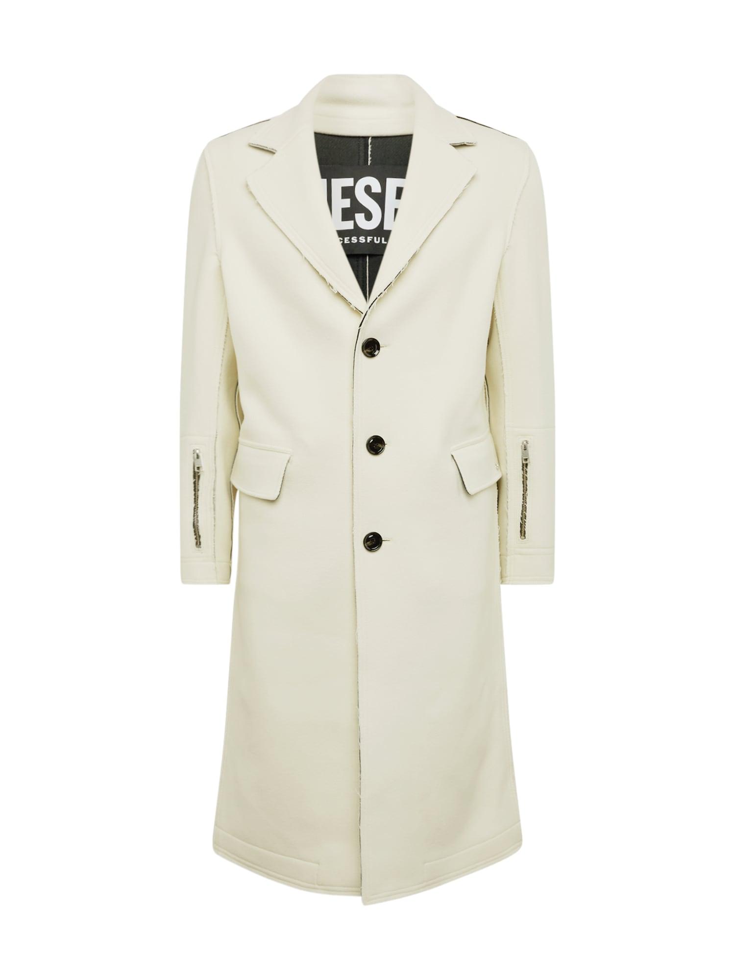 DIESEL Žieminis paltas 'COLBERT' kremo