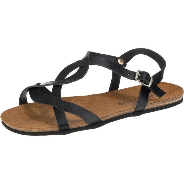 Sandalen für Frauen - ESPRIT Riemchensandalen 'Kendra' schwarz  - Onlineshop ABOUT YOU