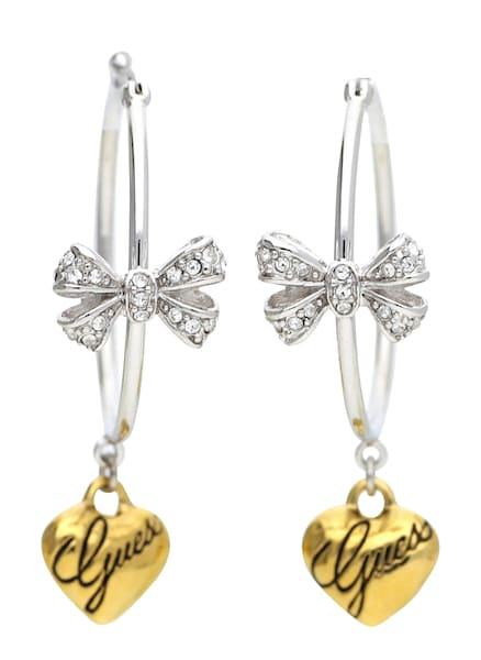 Ohrringe für Frauen - GUESS Creolen 'UBE81141' gold silber  - Onlineshop ABOUT YOU