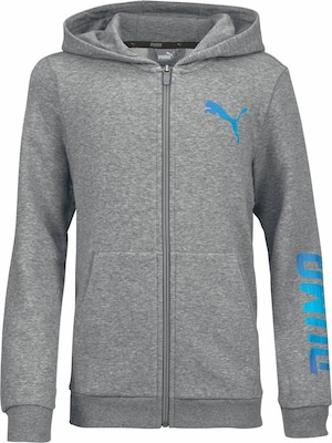 PUMA Kapuzensweatjacke 'REBEL FULL ZIP HOODY'