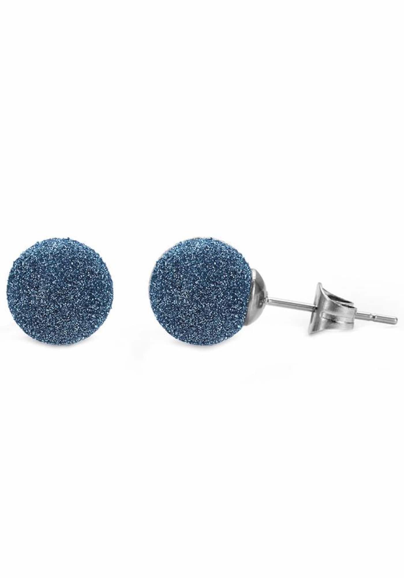 Ohrringe für Frauen - FIRETTI Paar Ohrstecker blau silber  - Onlineshop ABOUT YOU