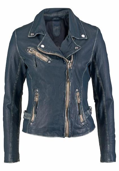 Jacken für Frauen - Gipsy Lederjacke blau  - Onlineshop ABOUT YOU