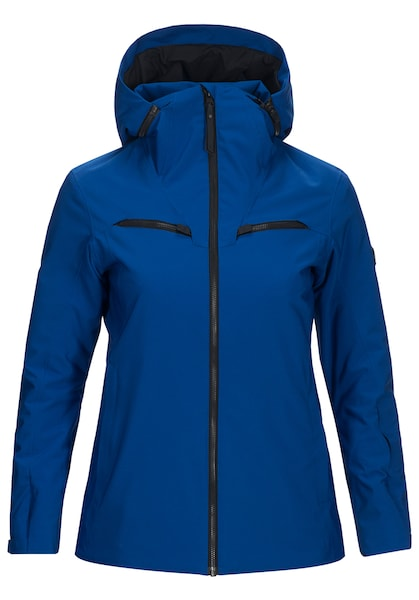 Jacken für Frauen - PEAK PERFORMANCE Skijacke 'Lanzo' blau schwarz  - Onlineshop ABOUT YOU
