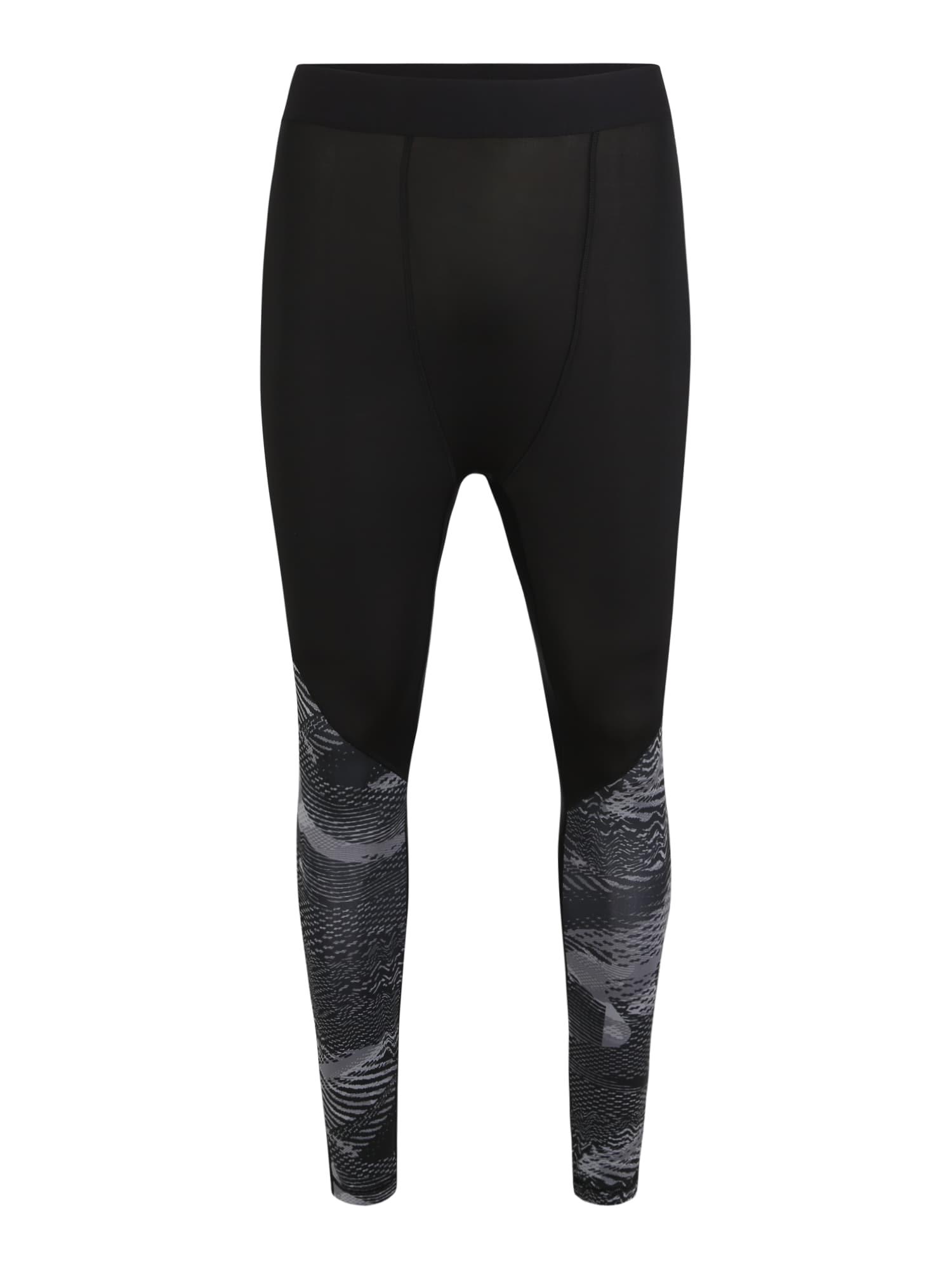 REEBOK Sportinės kelnės 'TS Comp Tight' juoda