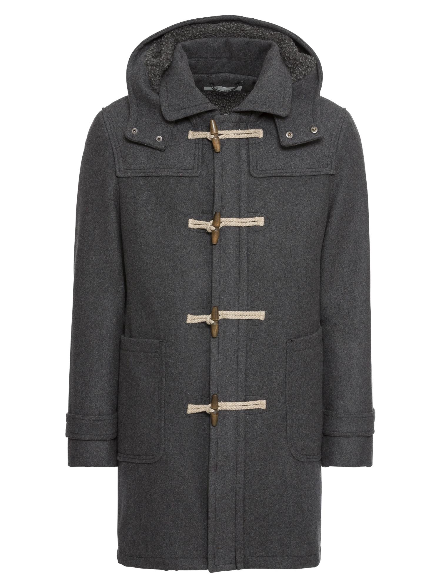 Přechodný kabát šedá ESPRIT