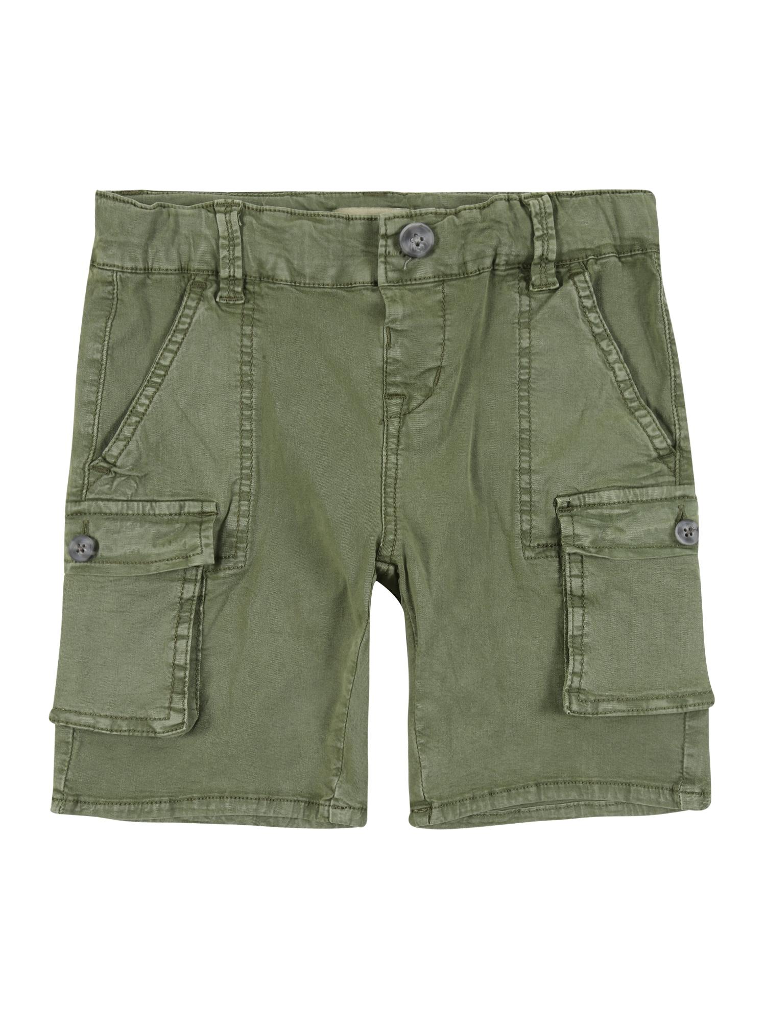 NAME IT Kelnės 'BARRY ' žalia