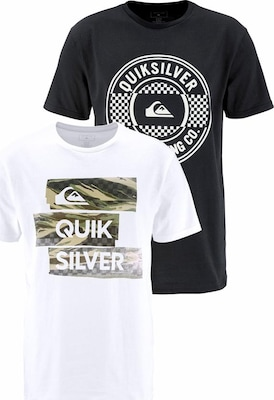 QUIKSILVER T-Shirt 'FLAXTON PACK CHILLY CAMO'