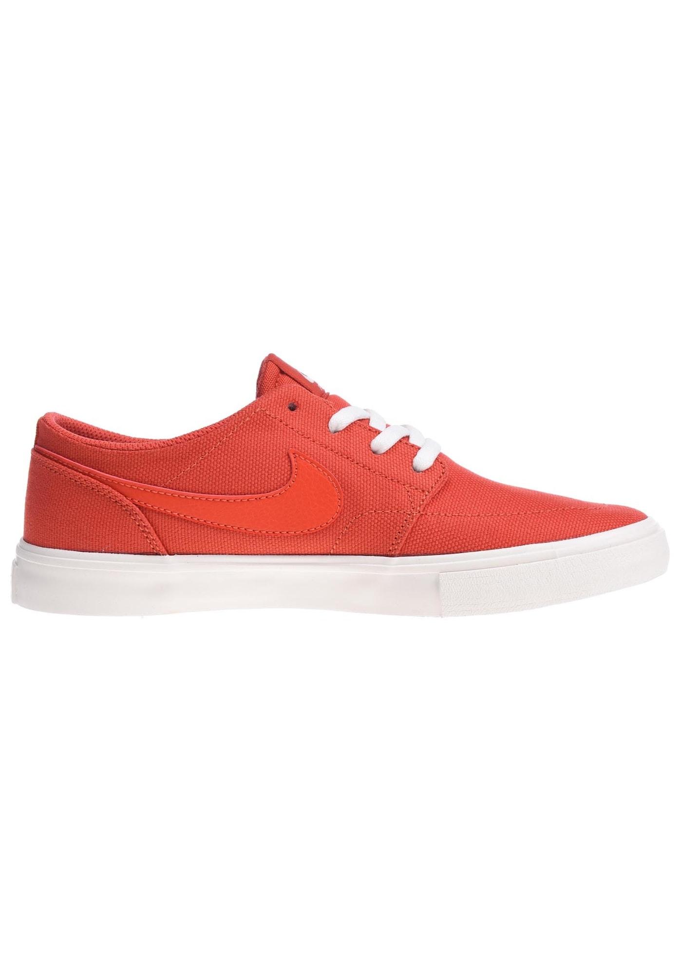 Nike SB, Damen Sneakers laag Portmore Ii Slr C, donkeroranje