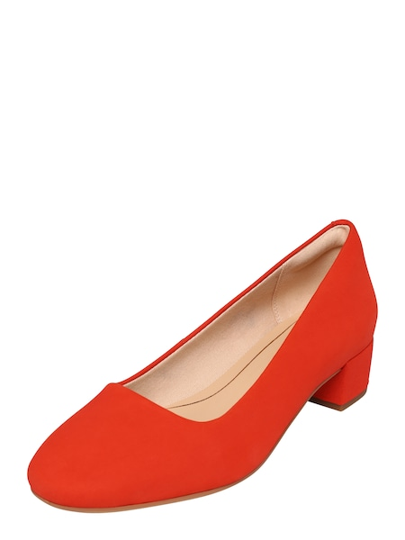 Pumps für Frauen - CLARKS Pumps 'Orabella Alice' orangerot  - Onlineshop ABOUT YOU