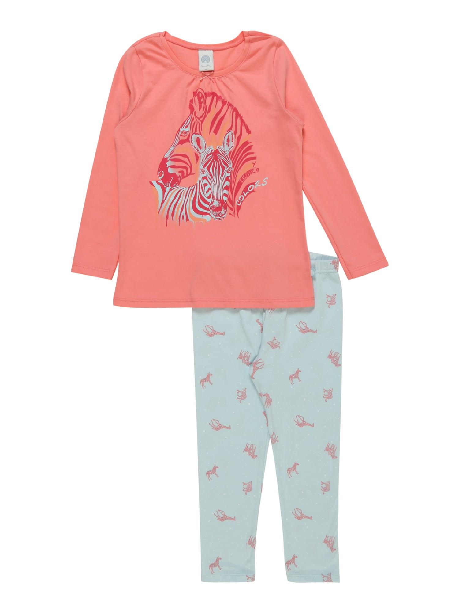 Pyžamo světlemodrá korálová SANETTA