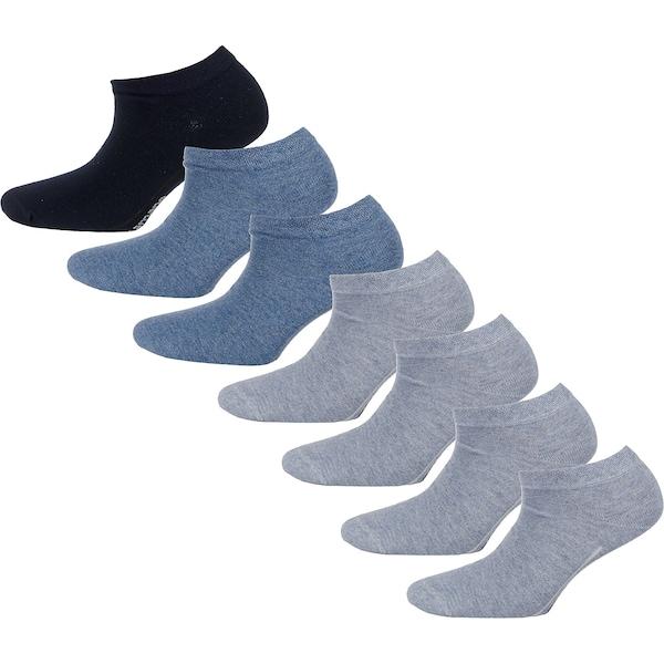 Socken für Frauen - Sneakersocken › Camano › rauchblau graumeliert schwarz  - Onlineshop ABOUT YOU