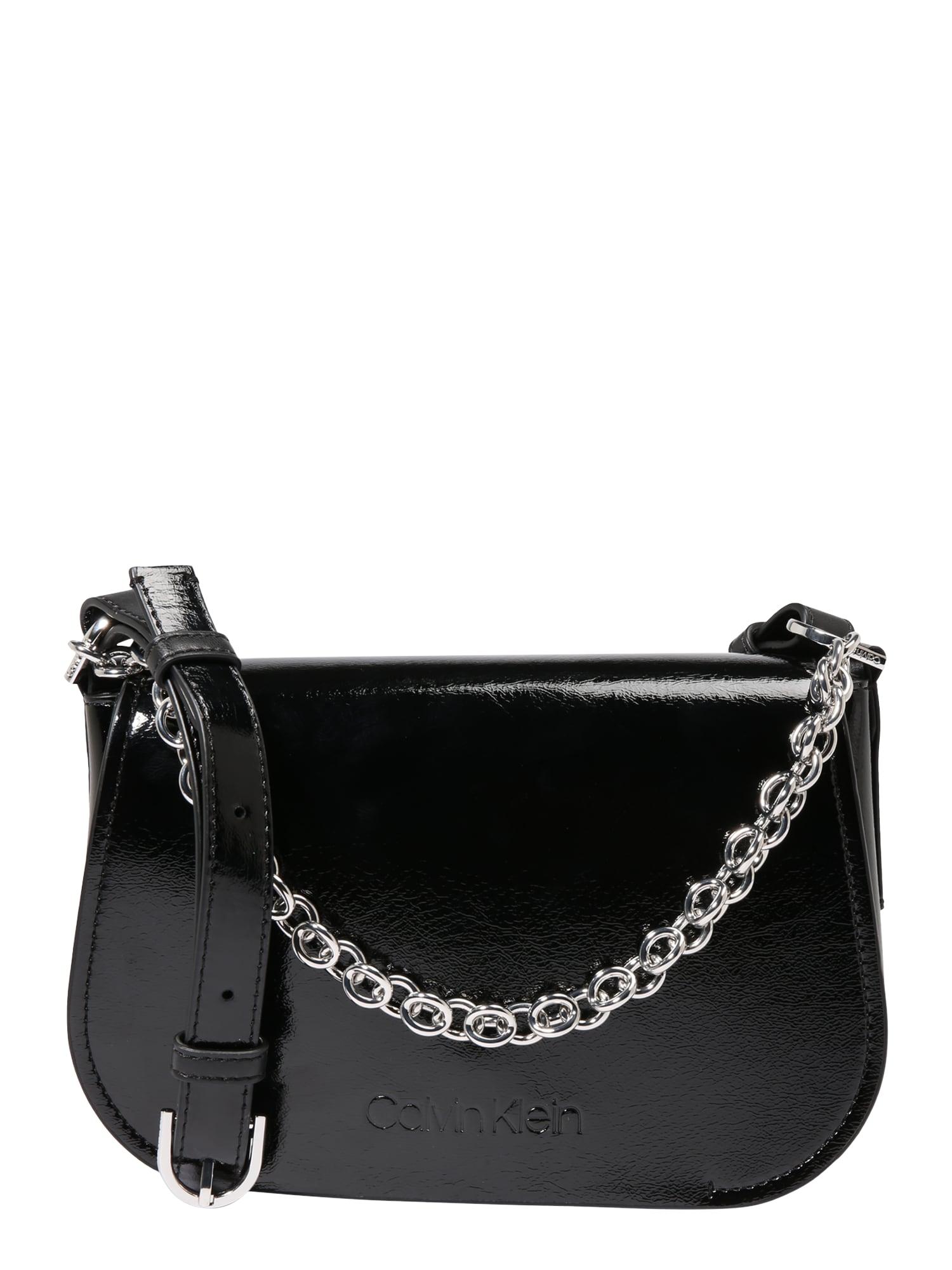 Taška přes rameno černá Calvin Klein