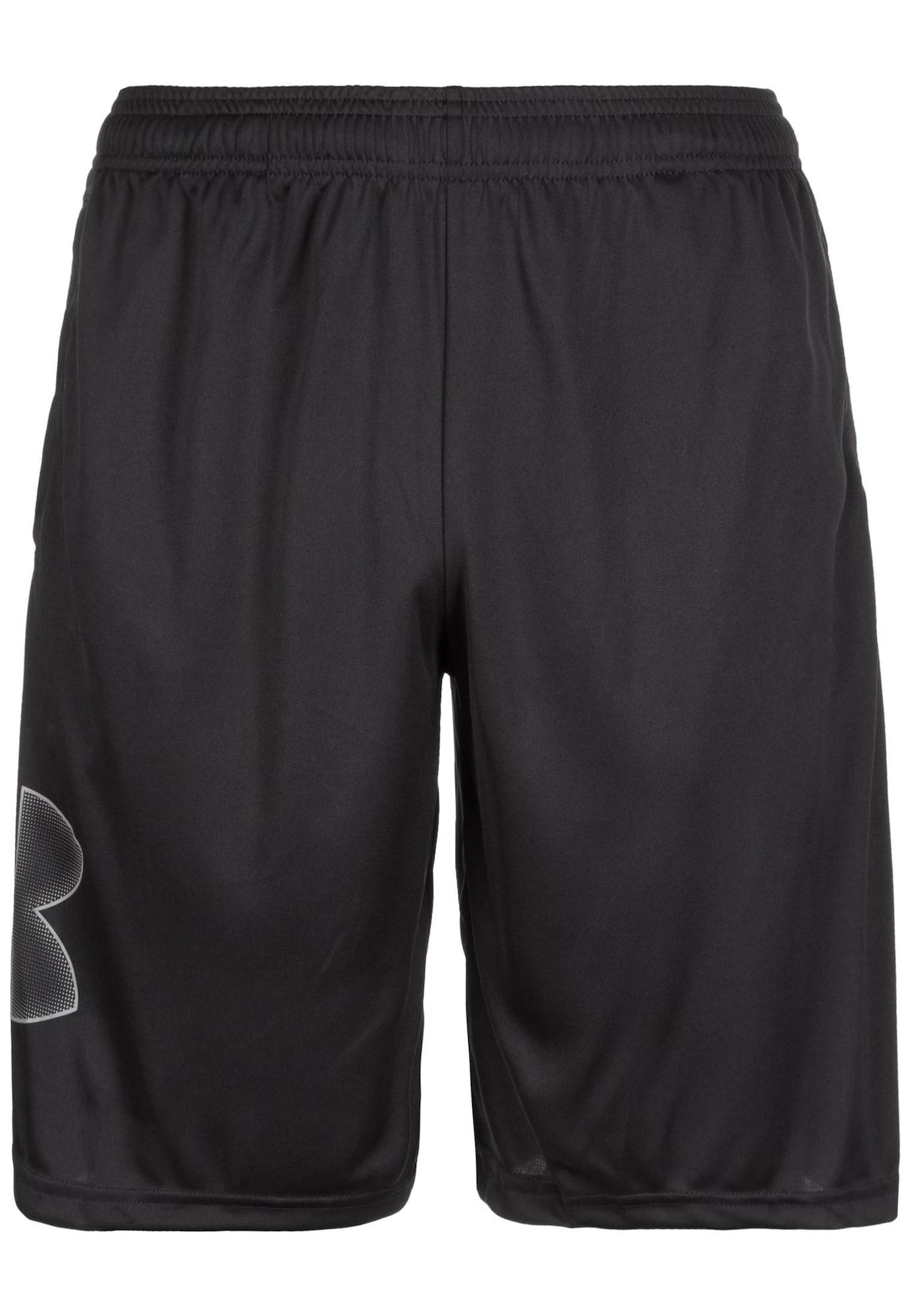 UNDER ARMOUR Sportinės kelnės balta / juoda