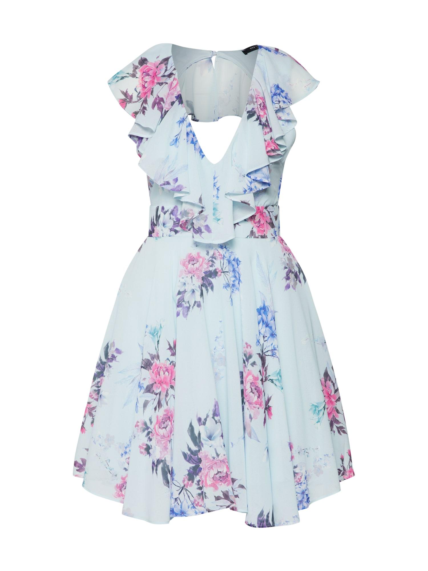 TFNC Kokteilinė suknelė šviesiai mėlyna