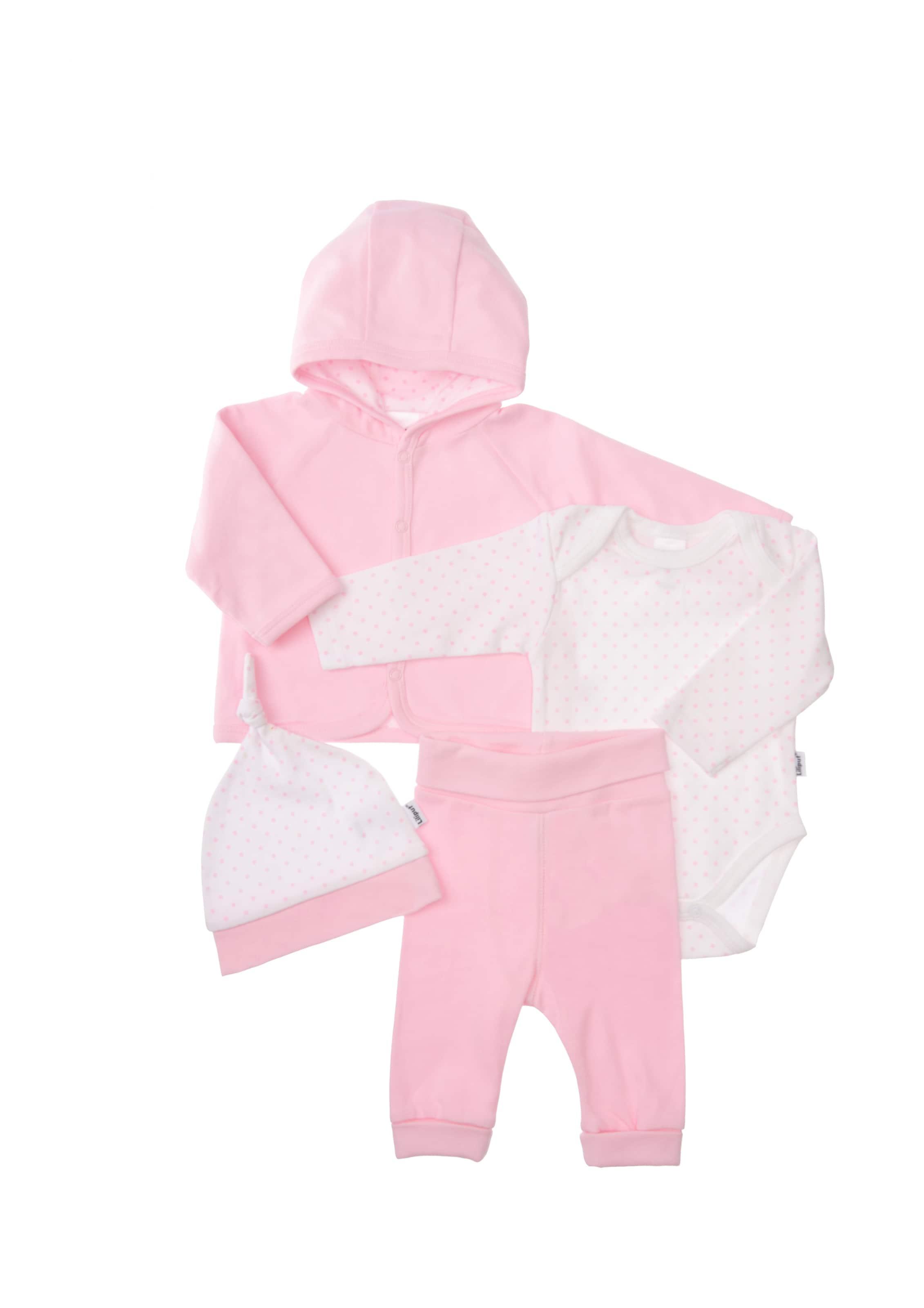 Kinder,  Mädchen,  Kinder LILIPUT Starterpaket rosa,  weiß   04035413042251