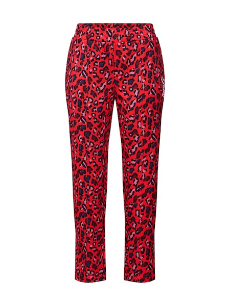 Hosen für Frauen - Hose 'Poly Tricot Track Printed Pant' › Juicy Couture Black Label › rot schwarz  - Onlineshop ABOUT YOU