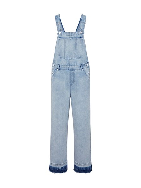 Hosen für Frauen - Latzjeans 'DUNGAREE LSW' › Denham › blue denim  - Onlineshop ABOUT YOU