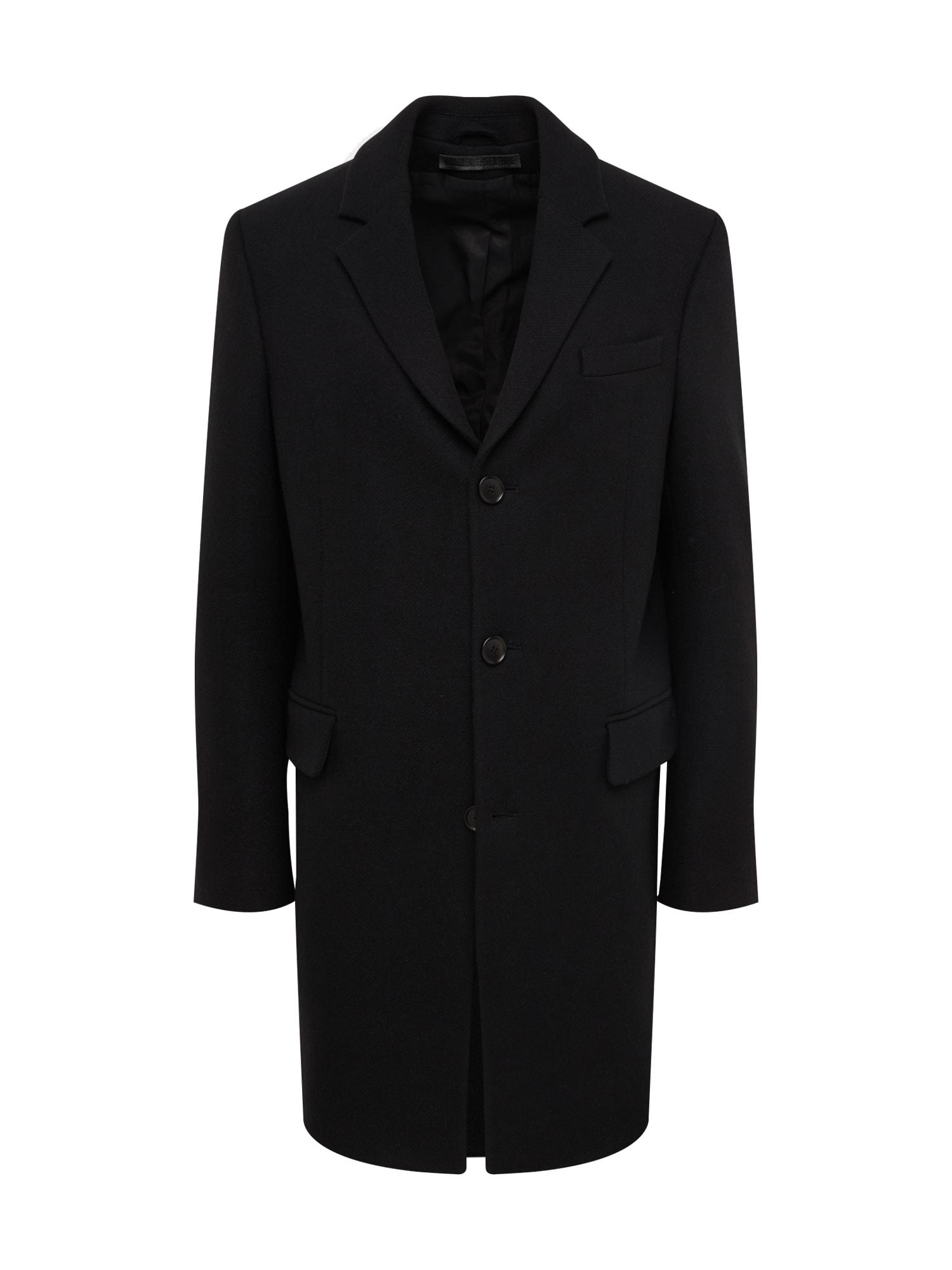 DRYKORN Rudeninis-žieminis paltas 'BLACOT' juoda