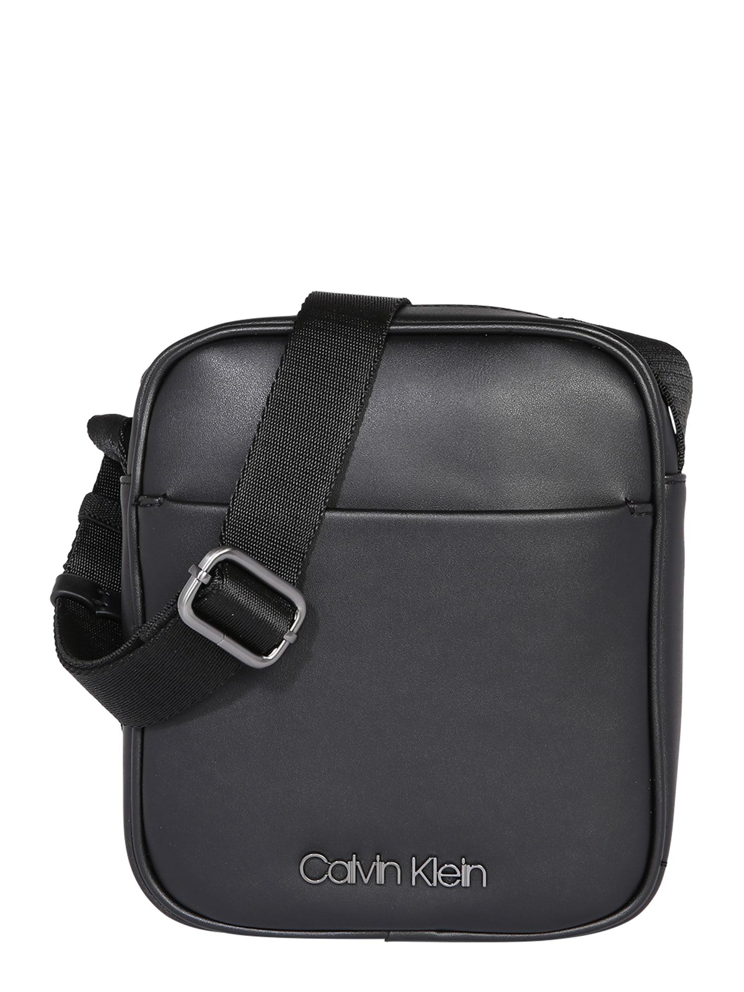 Calvin Klein Taška cez rameno 'CENTRAL MINI REPORTER'  čierna