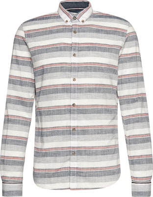 TOM TAILOR DENIM Hemd 'sporty striped shirt'
