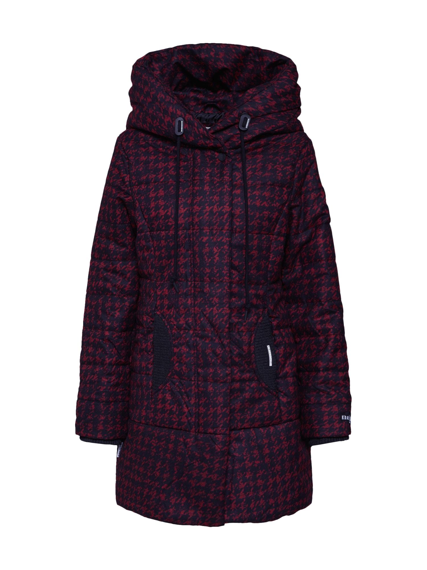 khujo Žieminis paltas 'SHERMA (H)' raudona / juoda