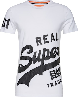 Superdry T-Shirt 'VINTAGE LOGO WRAP AROUND TEE'