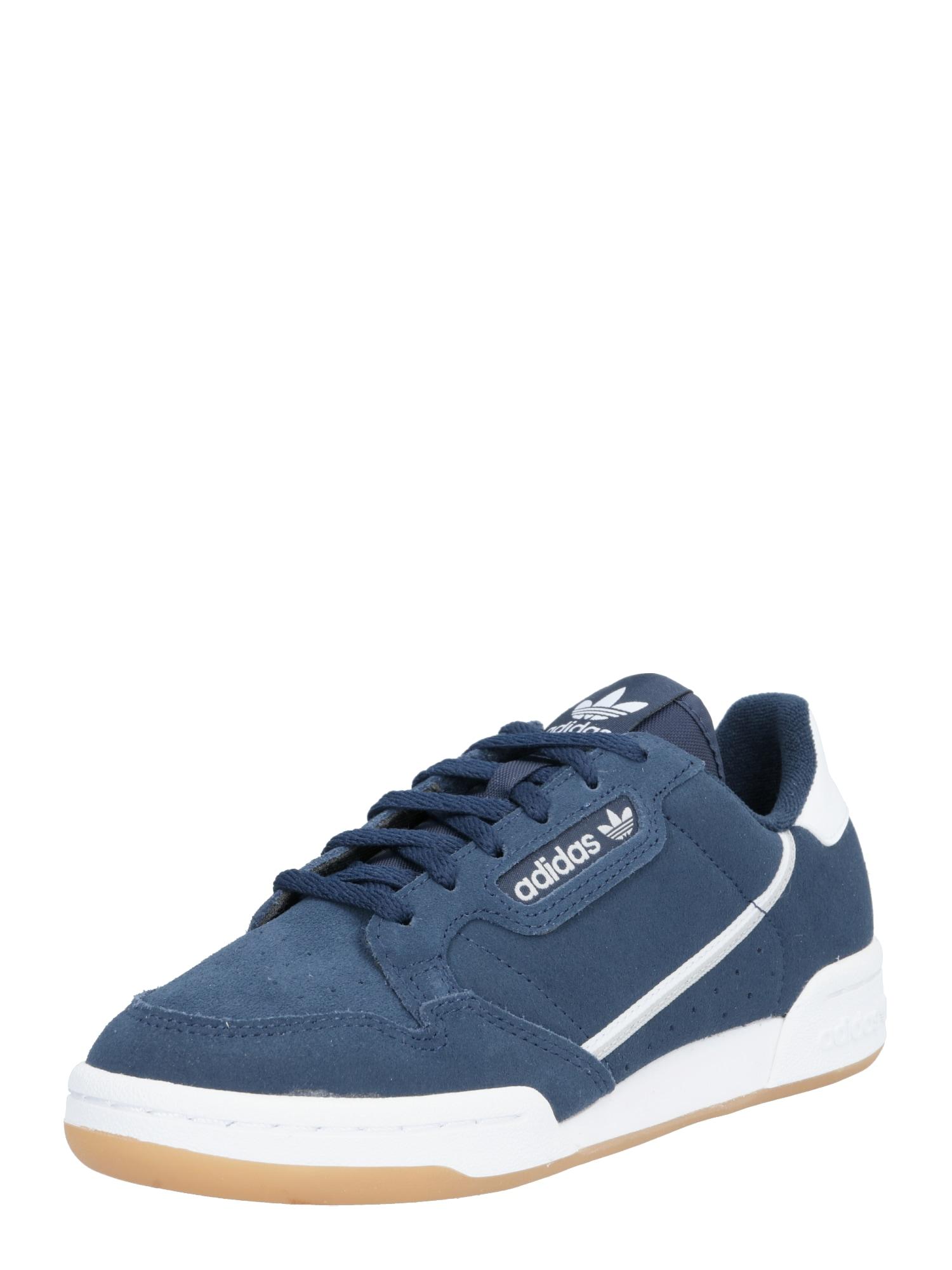 ADIDAS ORIGINALS Sportbačiai 'Continental 80 J' balta / mėlyna