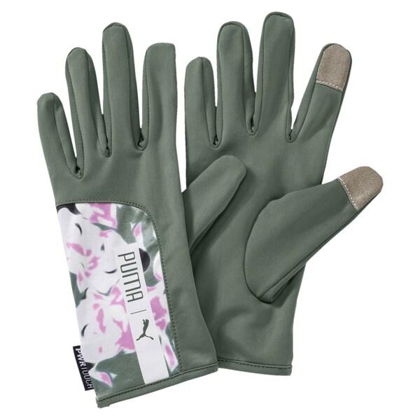 Handschuhe für Frauen - PUMA Running Damen Handschuhe grün  - Onlineshop ABOUT YOU