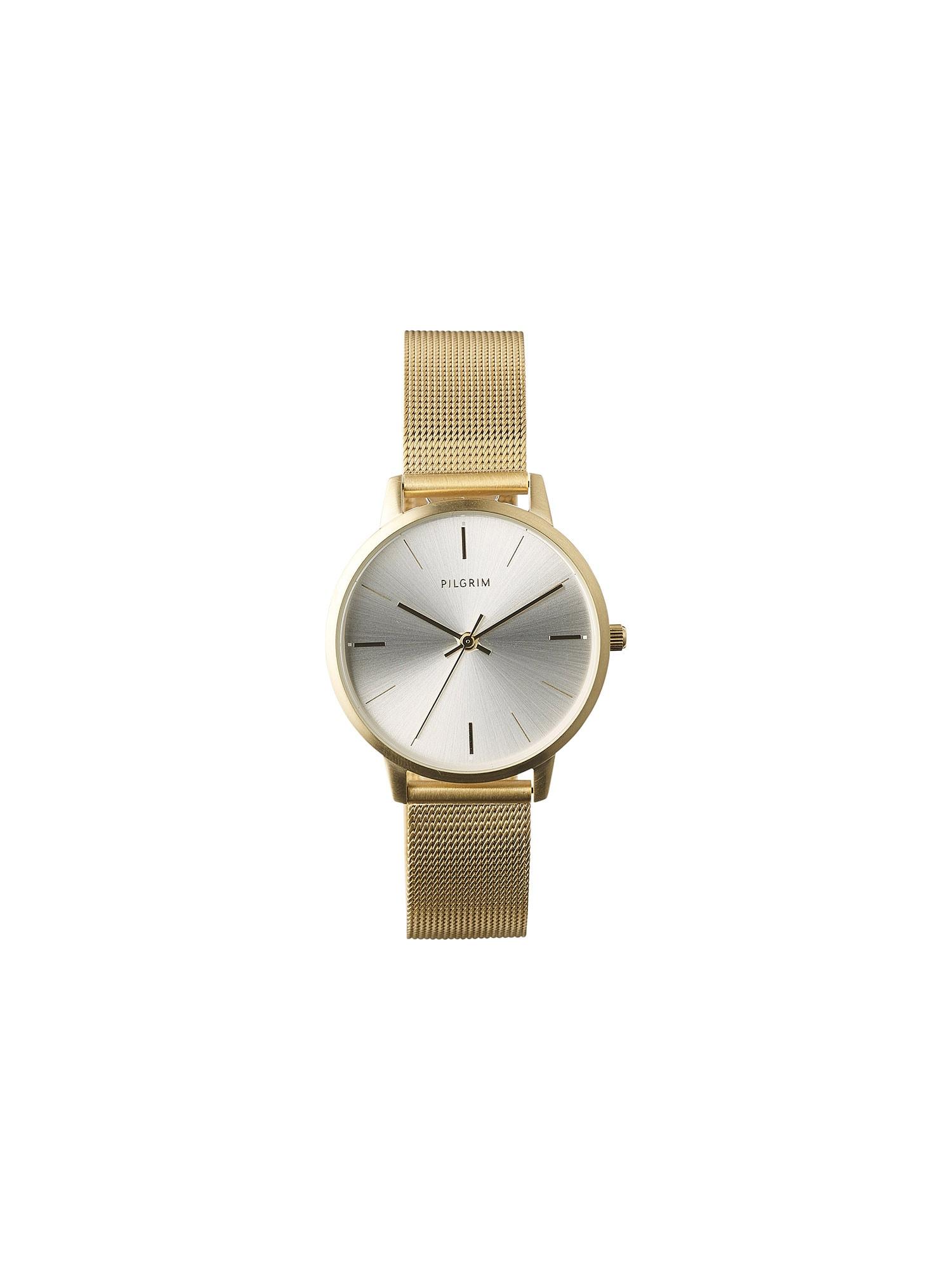 Pilgrim Analoginis (įprasto dizaino) laikrodis auksas / sidabrinė