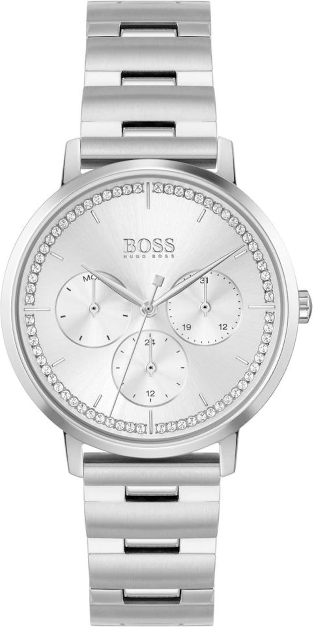 BOSS Analoginis (įprasto dizaino) laikrodis 'PRIMA' sidabrinė