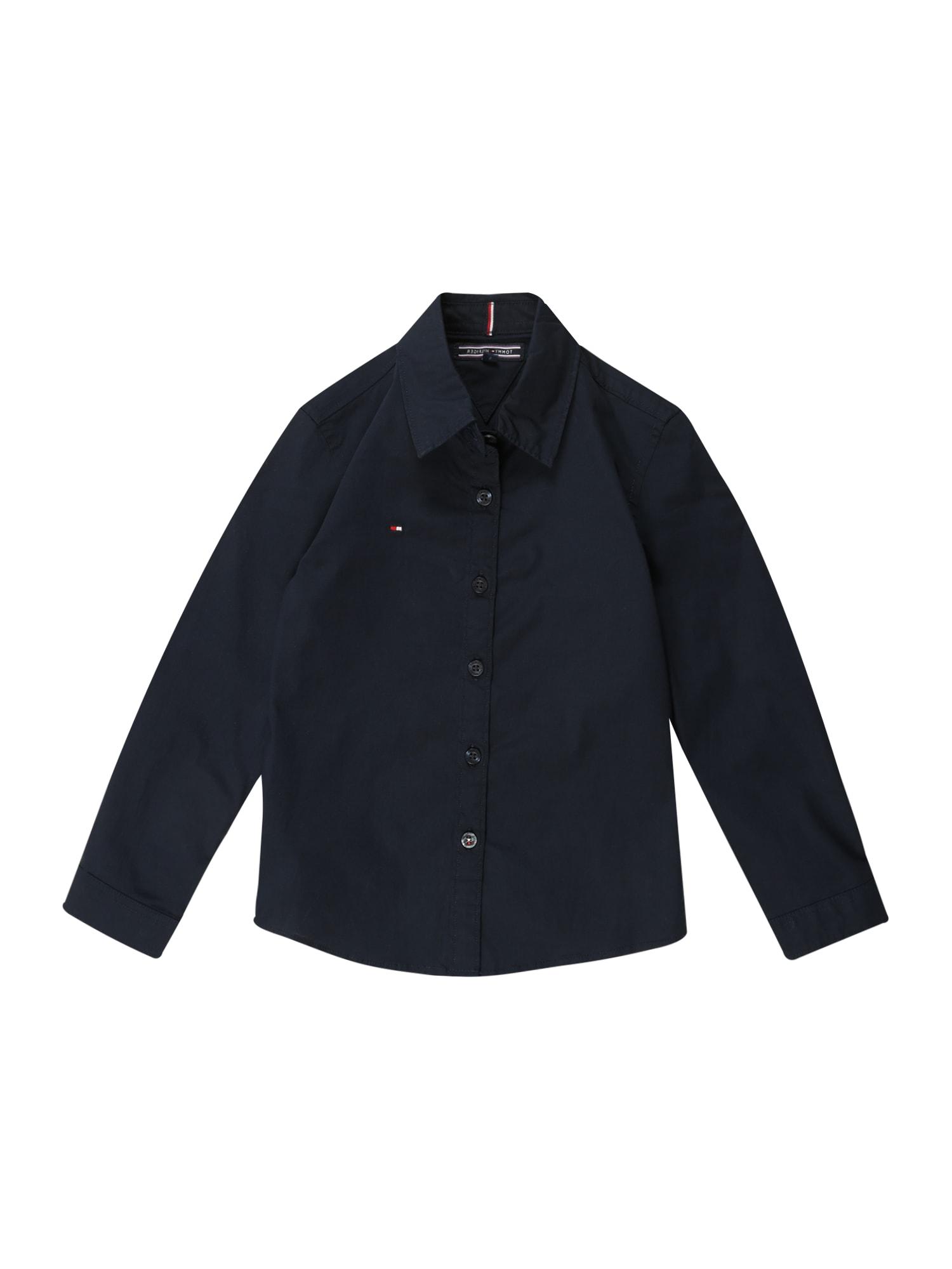 TOMMY HILFIGER Dalykiniai marškiniai mėlyna