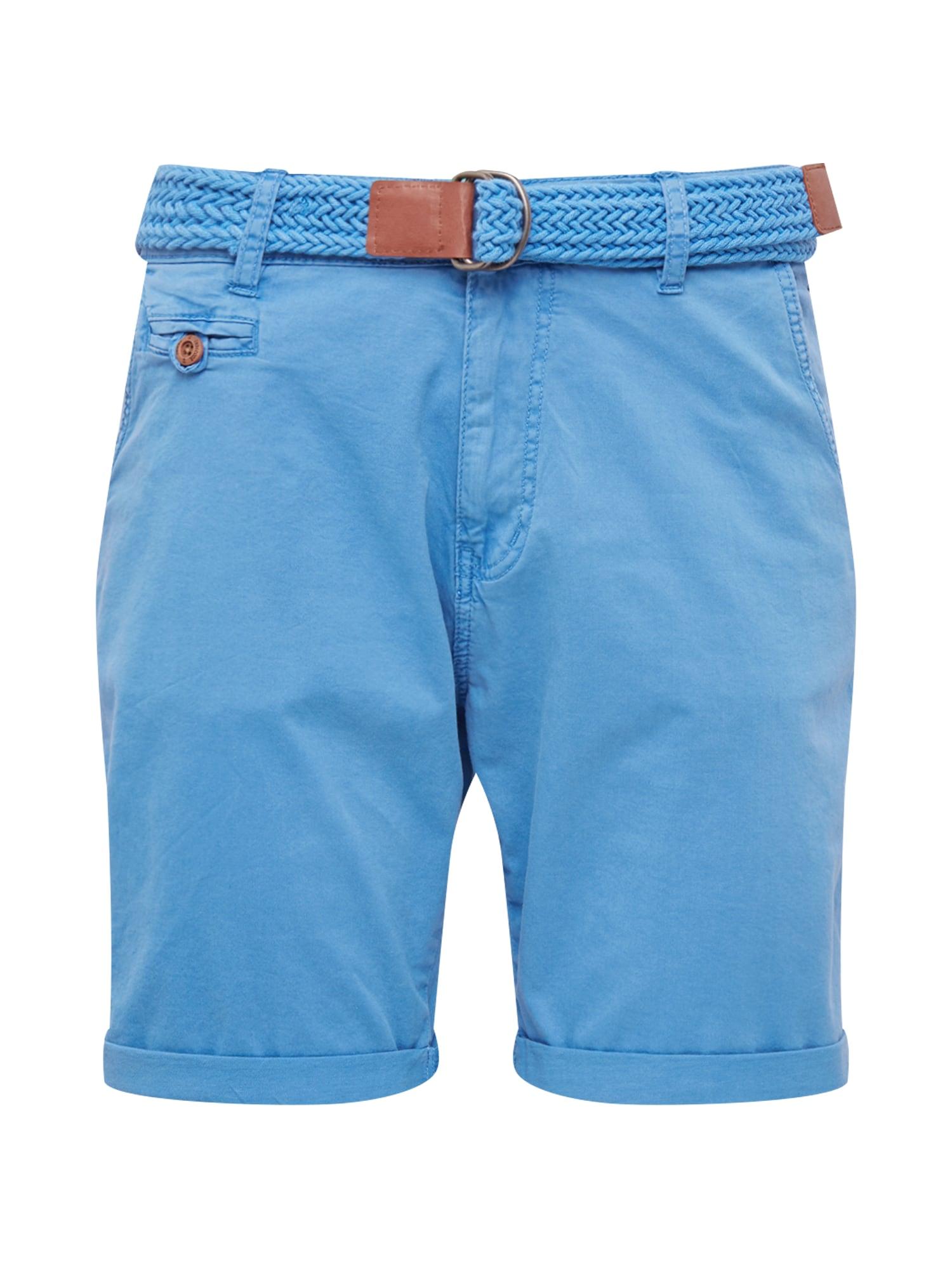 Chino kalhoty Conor blau INDICODE JEANS