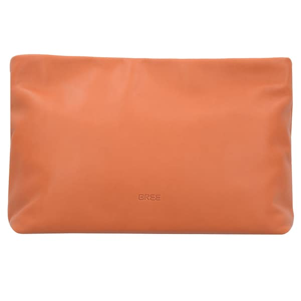 Clutches für Frauen - BREE Stockholm 32 Clutch Tasche Leder 33 cm koralle  - Onlineshop ABOUT YOU