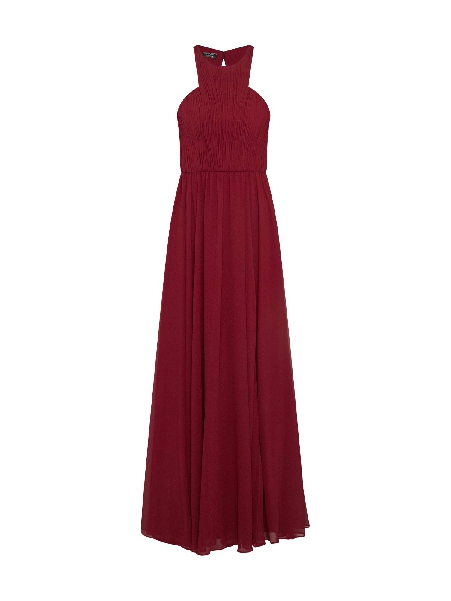 APART Vakarinė suknelė vyšninė spalva