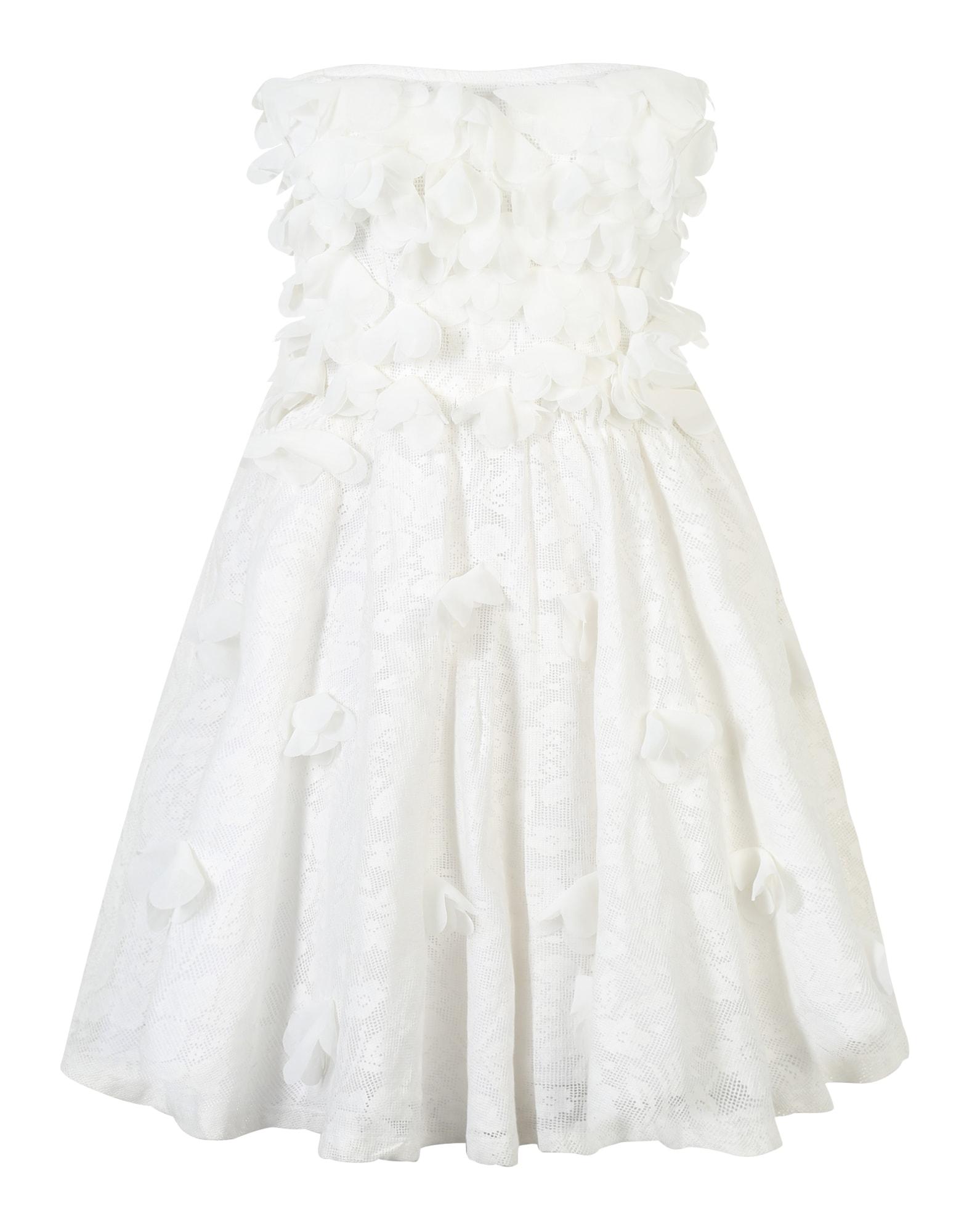 Letní šaty bílá GLAMOROUS