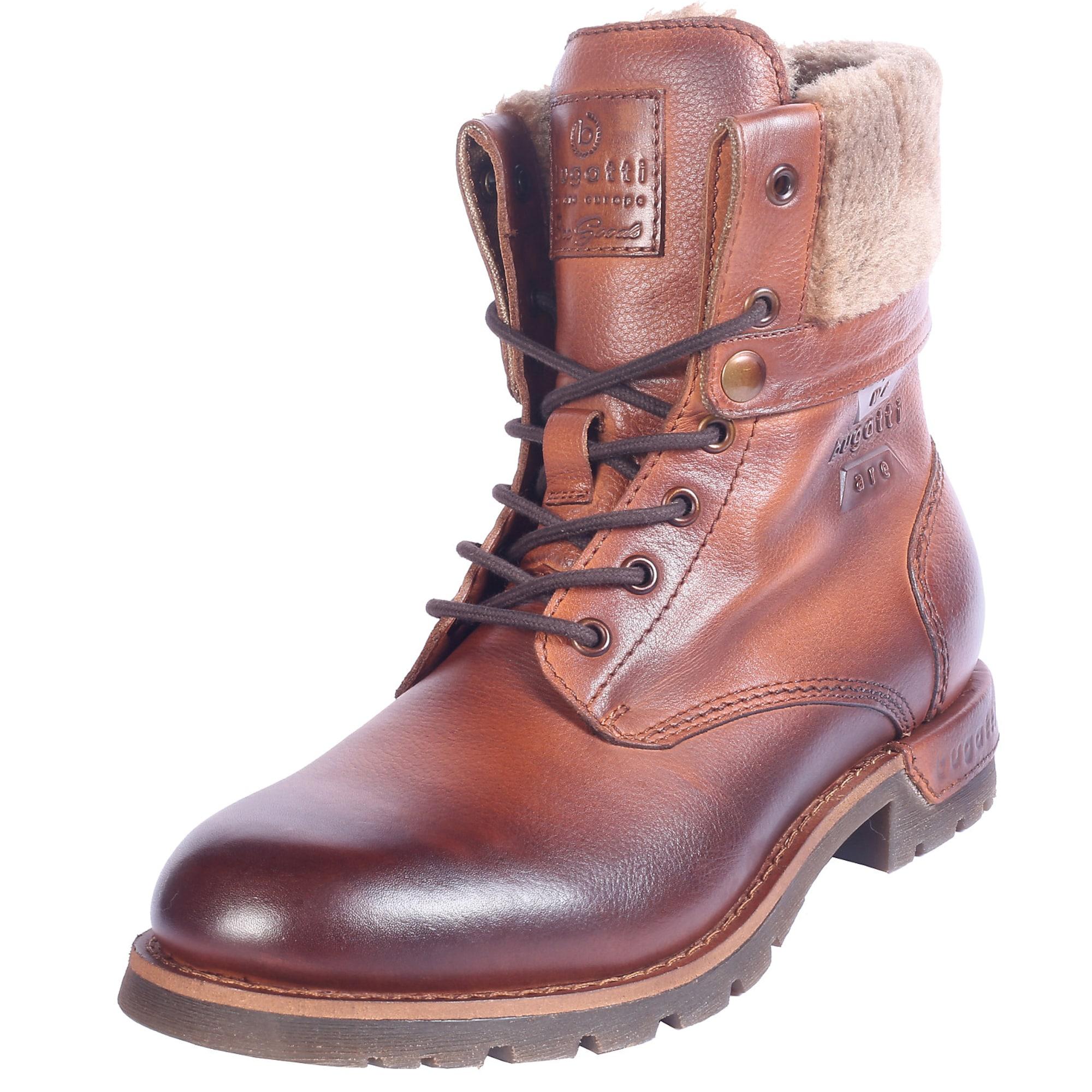 bugatti Suvarstomieji batai rusva