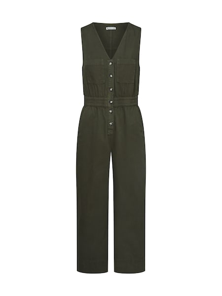 Hosen - Overall 'RIA DENIM JUMPSUIT' › Whistles › khaki  - Onlineshop ABOUT YOU