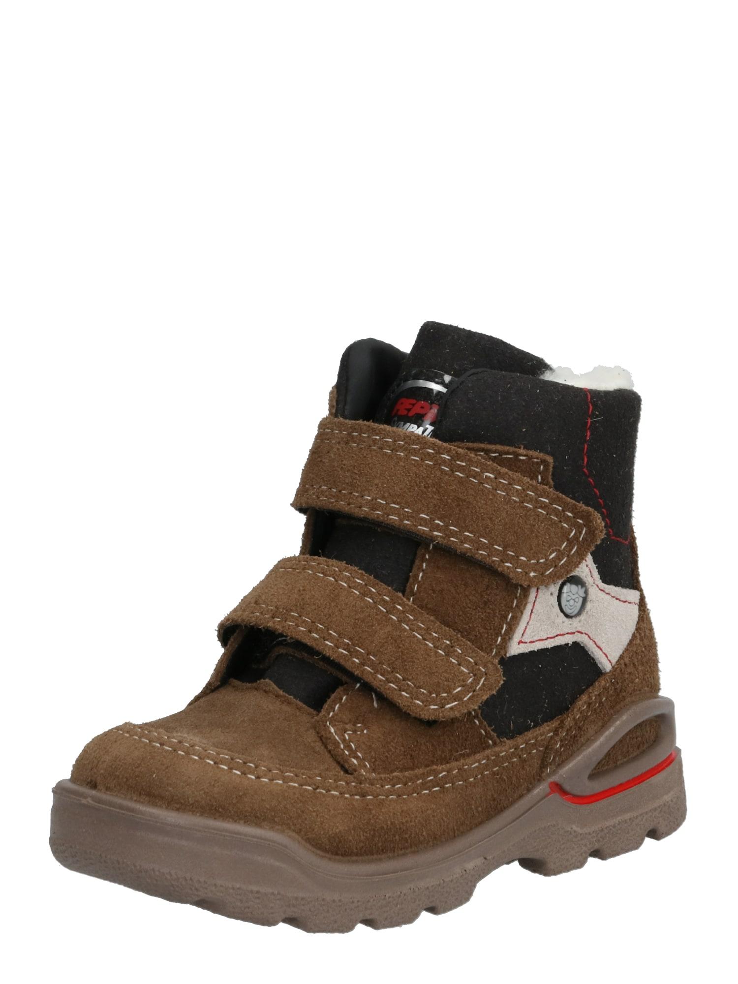 Pepino Auliniai batai su kulniuku 'JIM' ruda