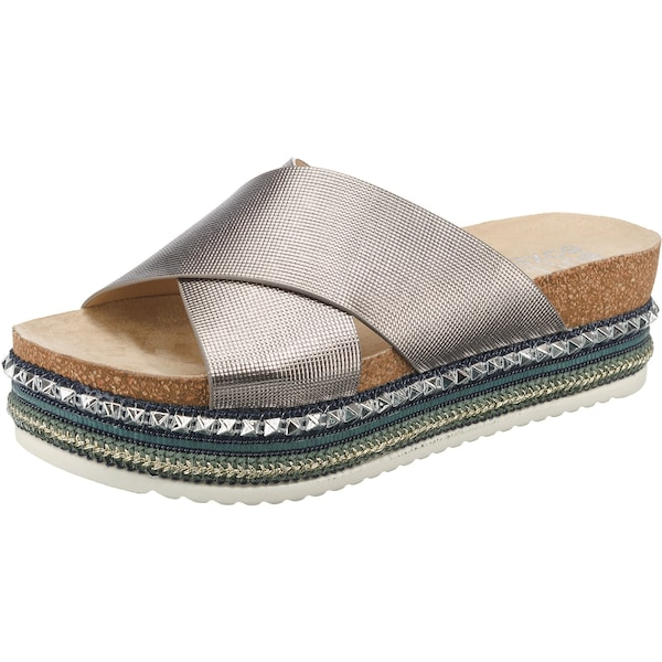 Sandalen für Frauen - BULLBOXER Plateausandale bronze  - Onlineshop ABOUT YOU