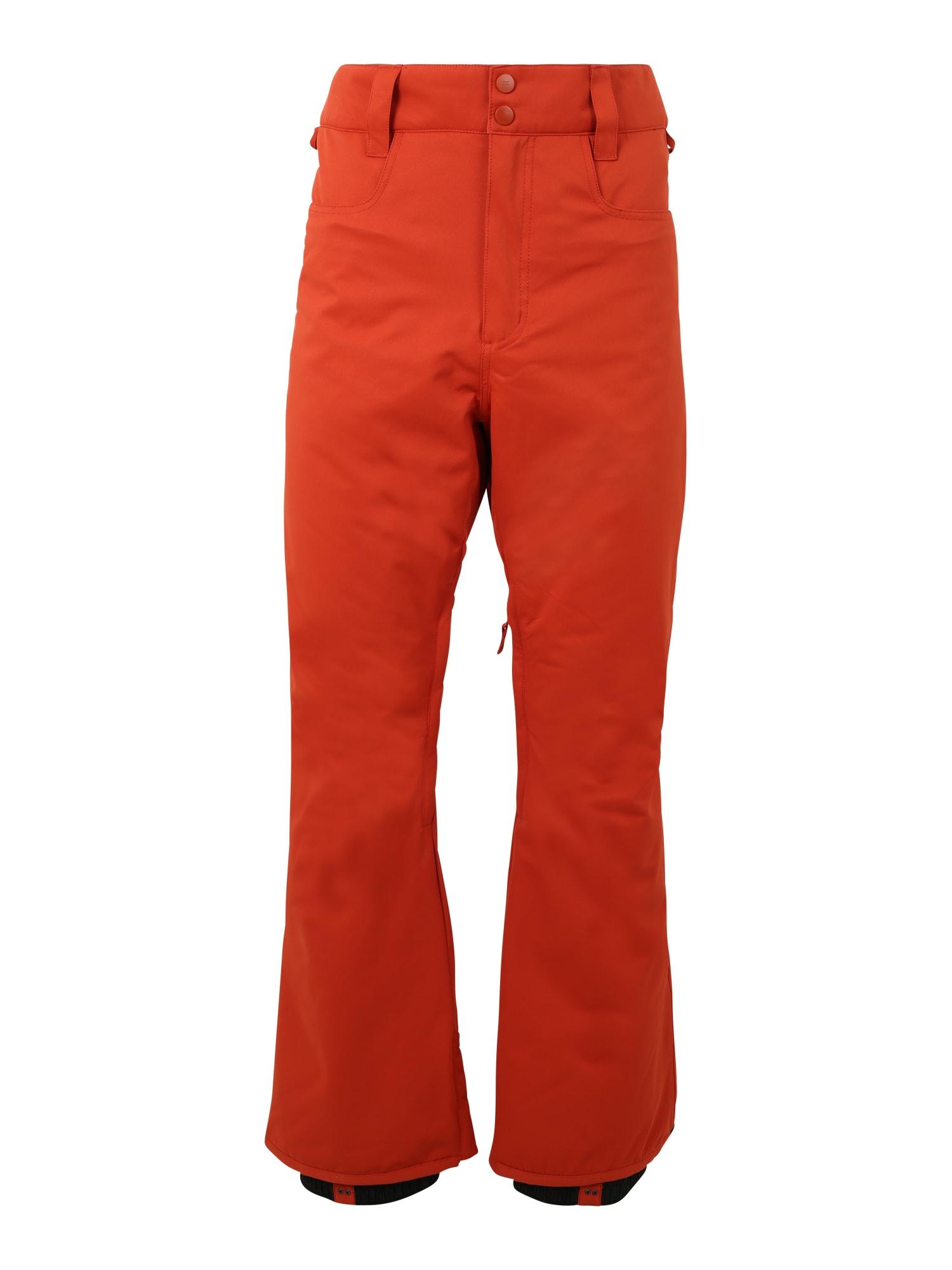 BILLABONG Sportinės kelnės 'outsider' ugnies raudona