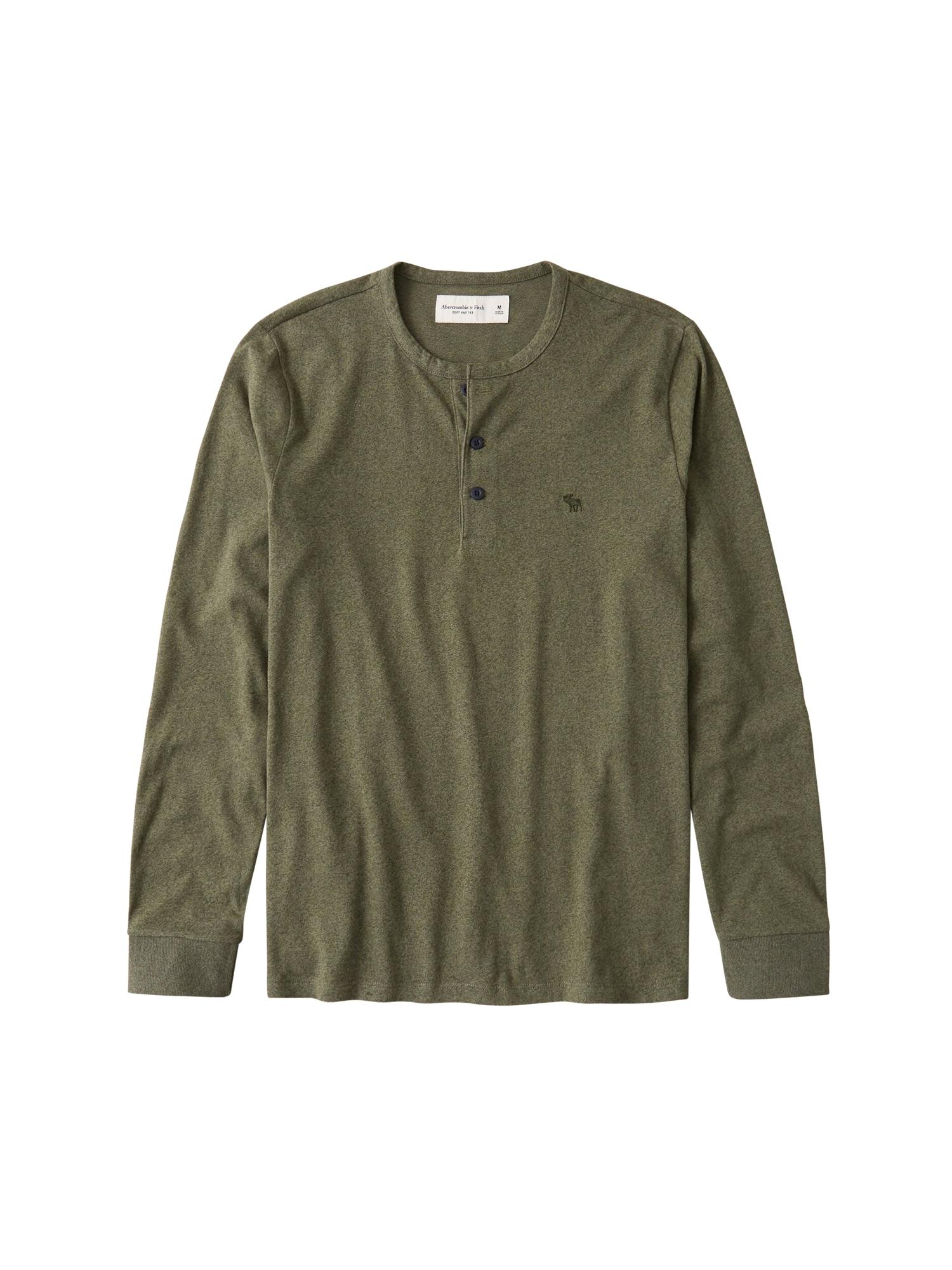 Abercrombie & Fitch Marškinėliai žalia