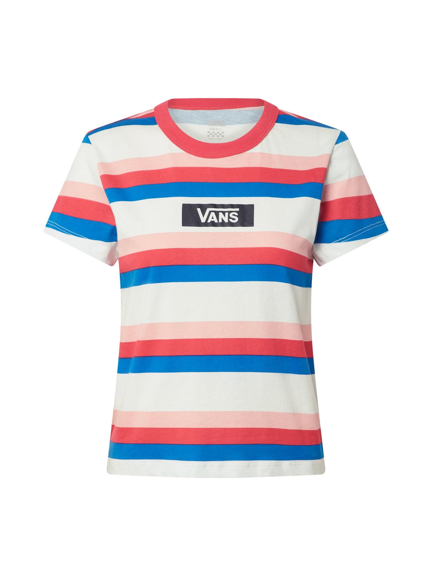 VANS Tričko  biela / ružová