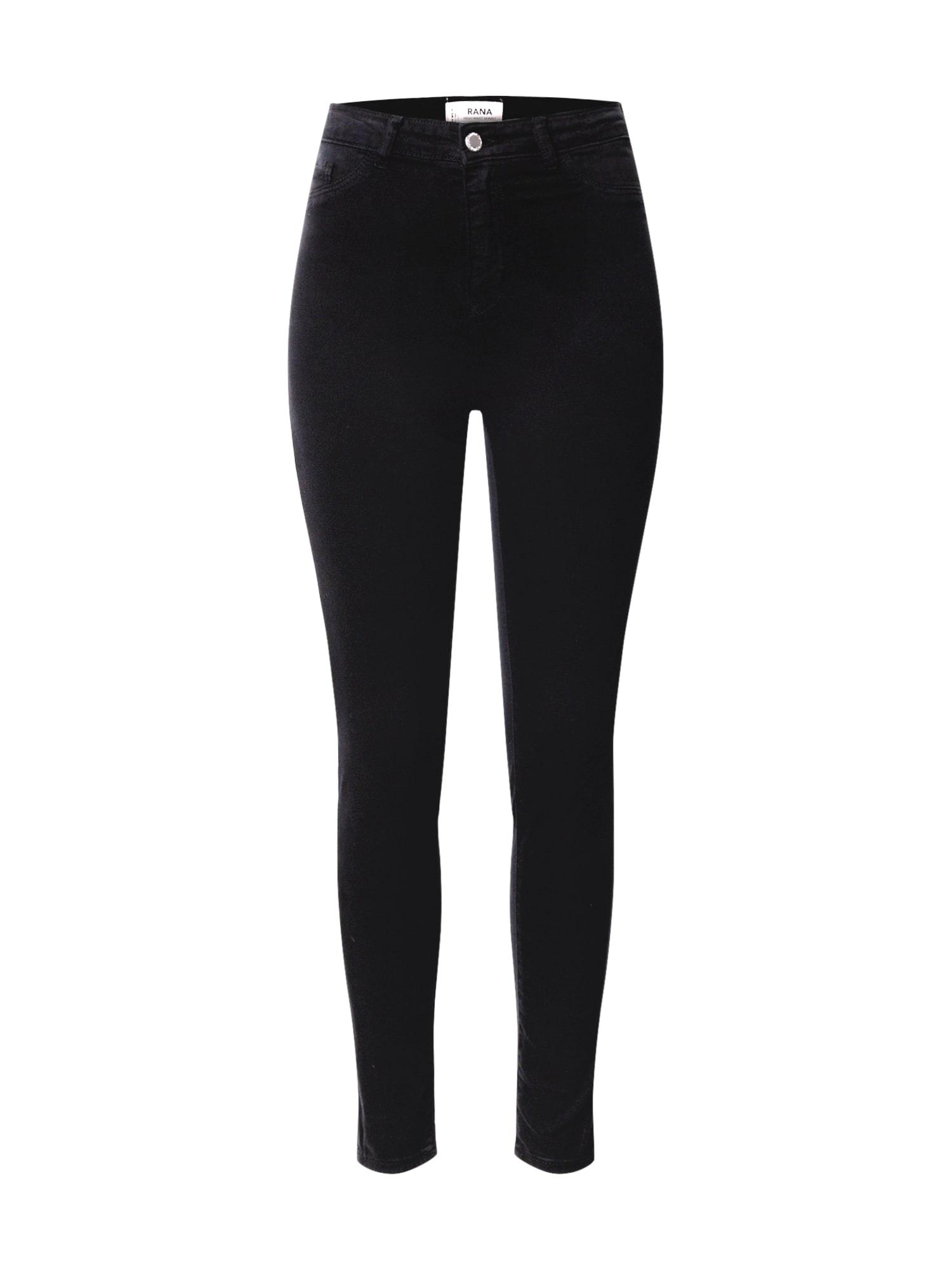 Tally Weijl Džinsai juodo džinso spalva
