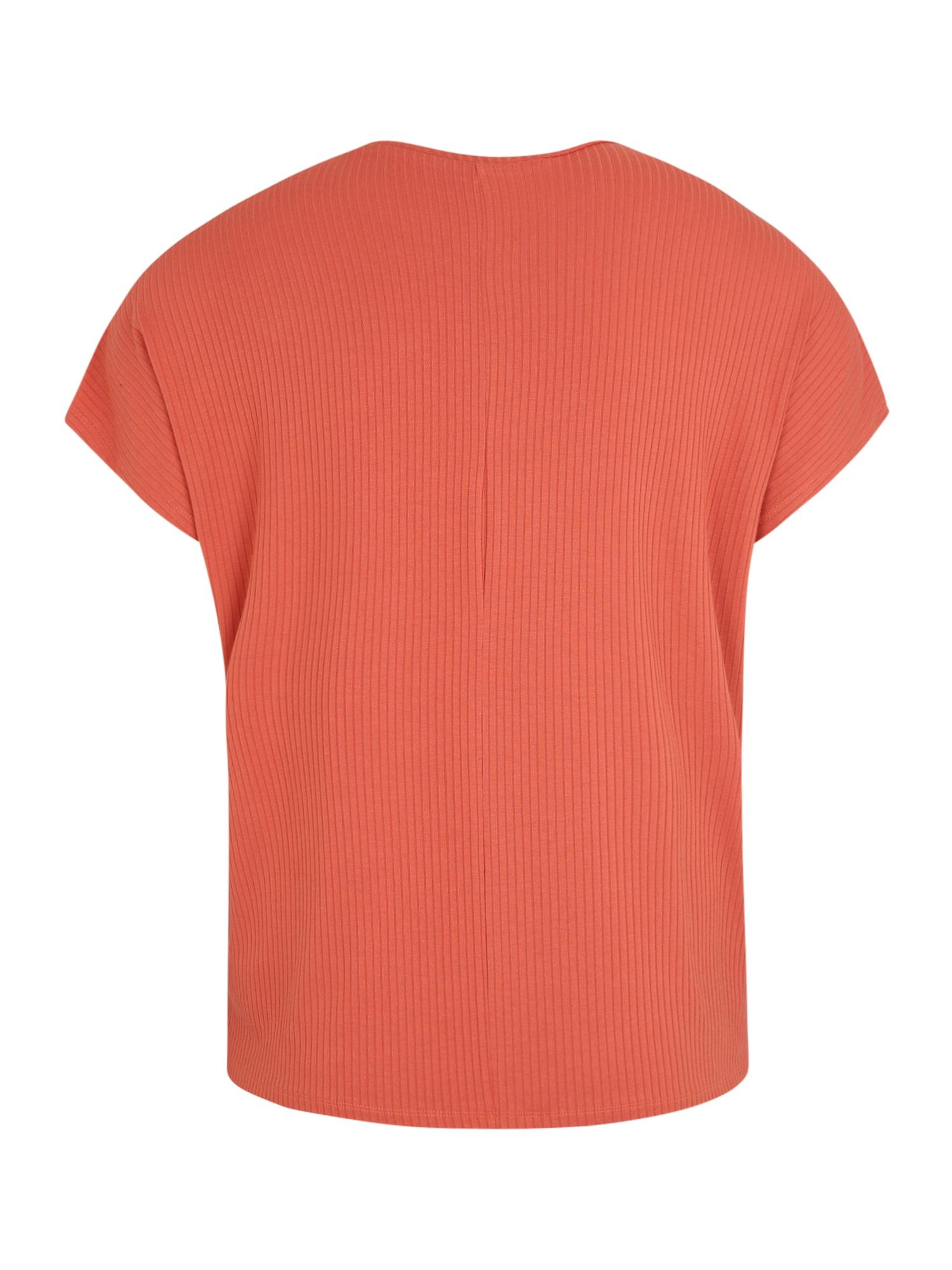 ABOUT YOU Curvy T-shirt 'Cora'  orange