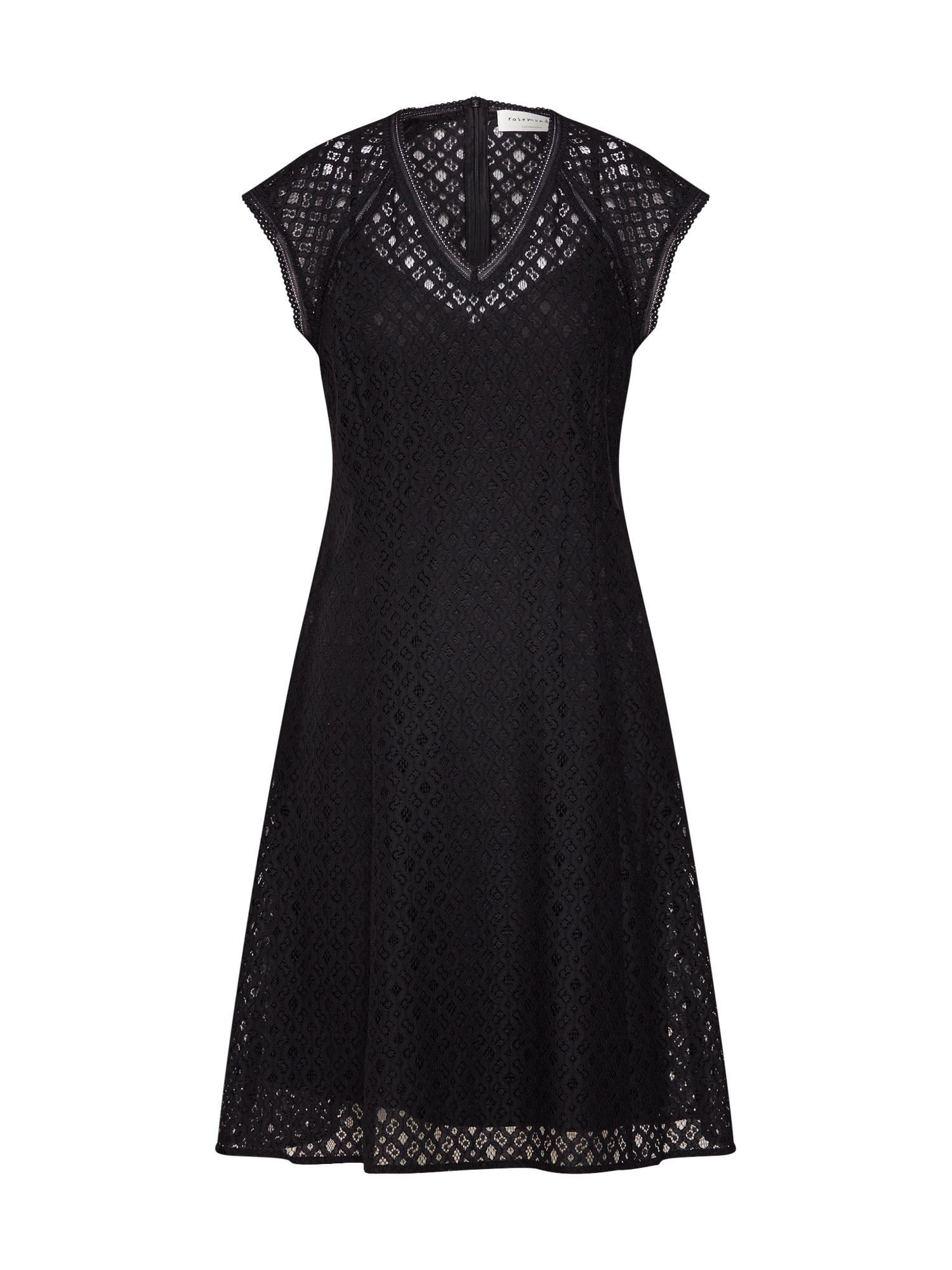 Koktejlové šaty Dress ss černá Rosemunde